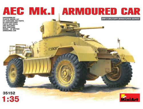 Miniart AEC Mk 1 Armoured Car 1:35 (35152)