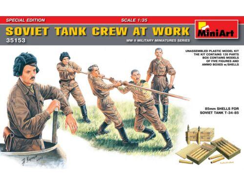 Miniart Soviet Tank Crew at Work. Special Edition 1:35 (35153)