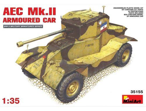 Miniart AEC Mk 2 Armoured Car 1:35 (35155)