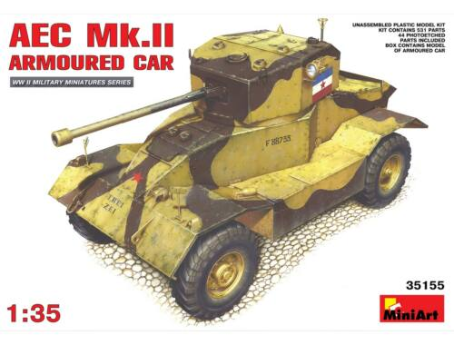 Miniart AEC Mk 2 Armoured Car 1:35 (35155)