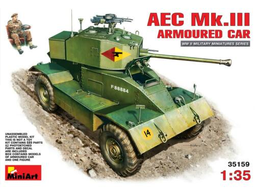 Miniart AEC Mk 3 Armoured Car 1:35 (35159)