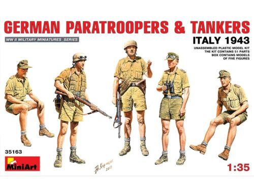 Miniart German Paratroopers   Tankers (Italy 1943) 1:35 (35163)
