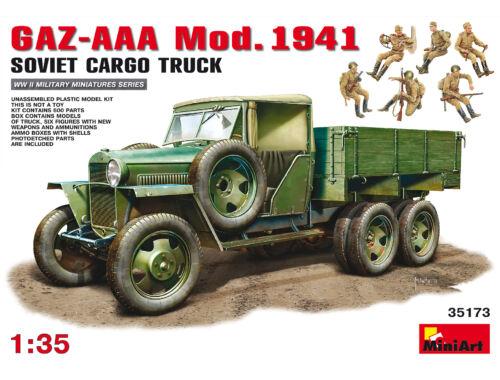 Miniart GAZ-AAA Cargo Truck Mod. 1941 1:35 (35173)