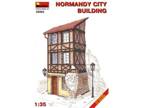 Miniart Normandy City Building 1:35 (35503)