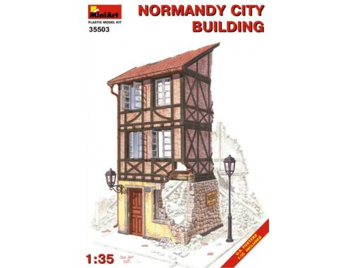 Miniart Normandy City Building 1:35 (35503)