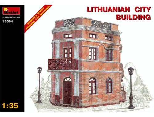 Miniart Lithuanian City Building 1:35 (35504)