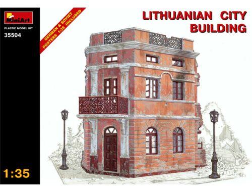 Miniart Lithuanian City Building 1:35 (35504)