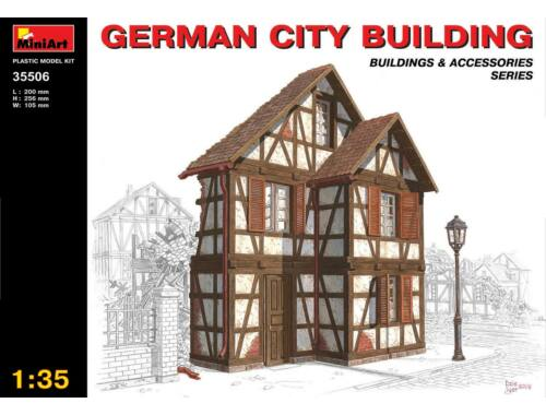 Miniart German City Building 1:35 (35506)
