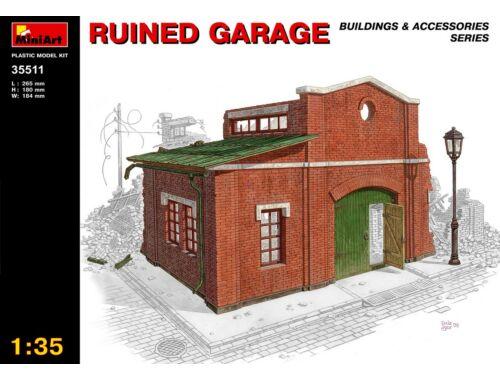 Miniart Ruined Garage 1:35 (35511)
