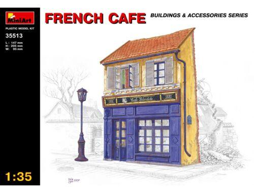 Miniart French Café 1:35 (35513)