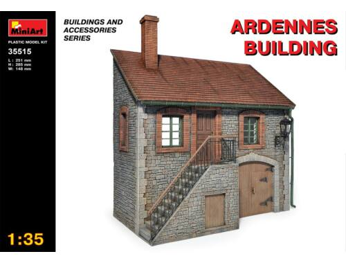 Miniart Ardennes Building 1:35 (35515)