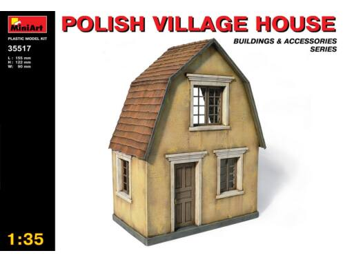 Miniart Polish Village House 1:35 (35517)