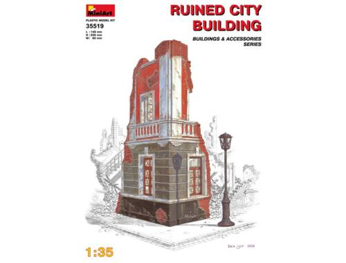Miniart Ruined City Building 1:35 (35519)