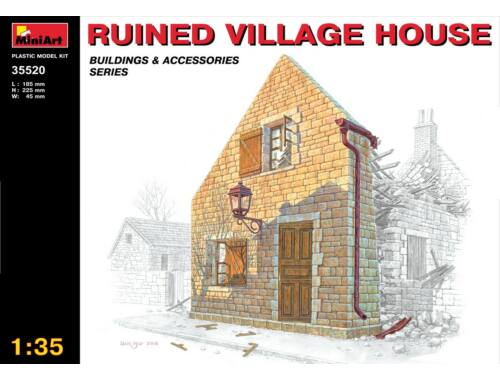 Miniart Ruined Village House 1:35 (35520)