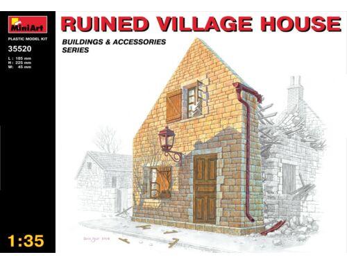 Miniart Ruined Village House 1:35 (35520)