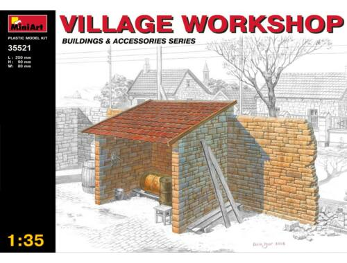 Miniart Village Workshop 1:35 (35521)