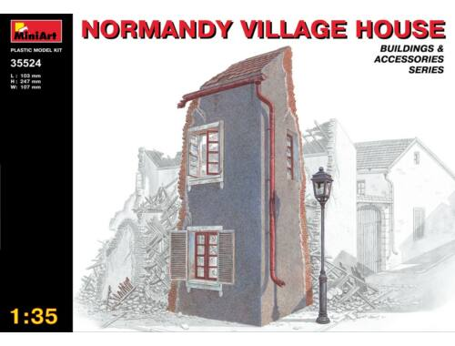 Miniart Normandy Village House 1:35 (35524)