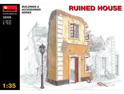 Miniart Ruined House 1:35 (35526)