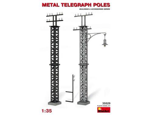 Miniart Metal Telegraph Poles 1:35 (35529)