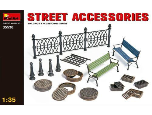 Miniart Street Accessories 1:35 (35530)