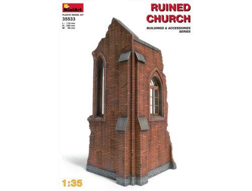 Miniart Church Ruin 1:35 (35533)