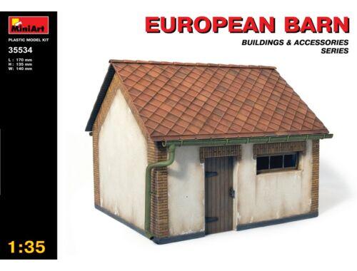 Miniart European Barn 1:35 (35534)