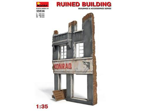 Miniart Ruined Building 1:35 (35536)