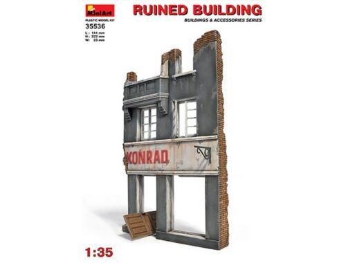 Miniart Ruined Building 1:35 (35536)