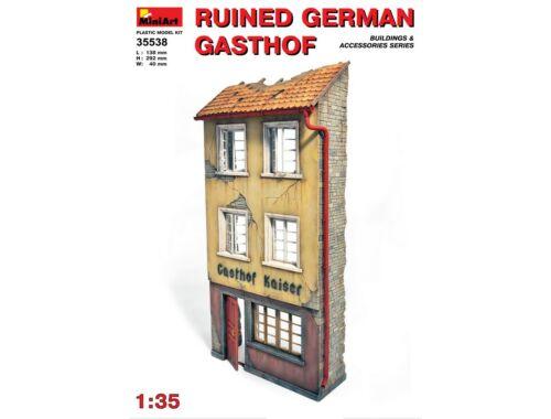"""Miniart Ruined German """"Gasthof"""" 1:35 (35538)"""