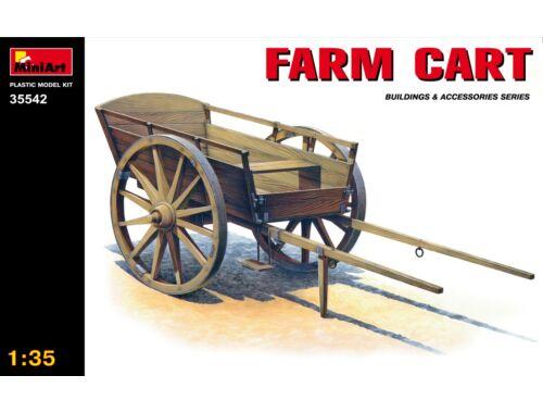 Miniart Farm Cart 1:35 (35542)