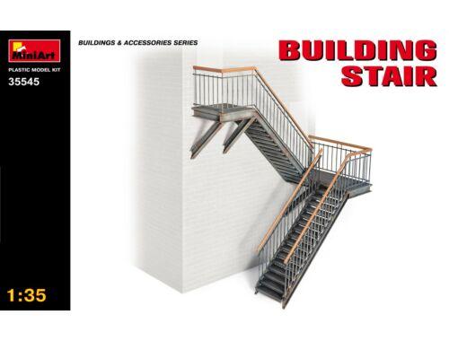 Miniart Building Stair 1:35 (35545)
