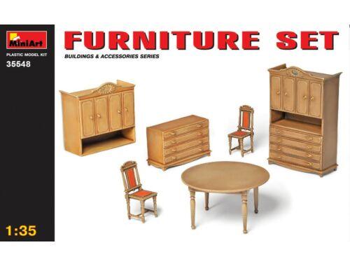 Miniart Furniture Set 1:35 (35548)