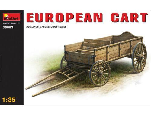 Miniart European Cart 1:35 (35553)