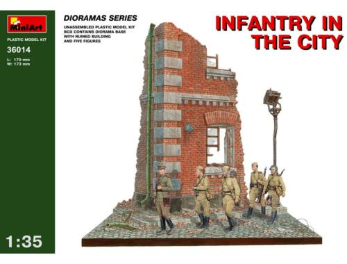 Miniart Infantry in the City 1:35 (36014)