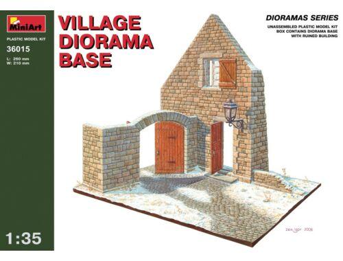 Miniart Village Diorama Base 1:35 (36015)