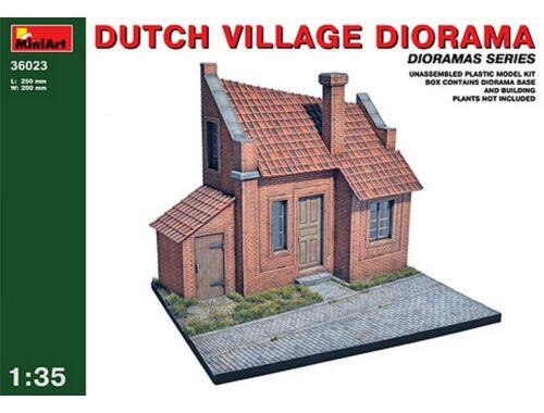 Miniart Dutch Village Diorama 1:35 (36023)