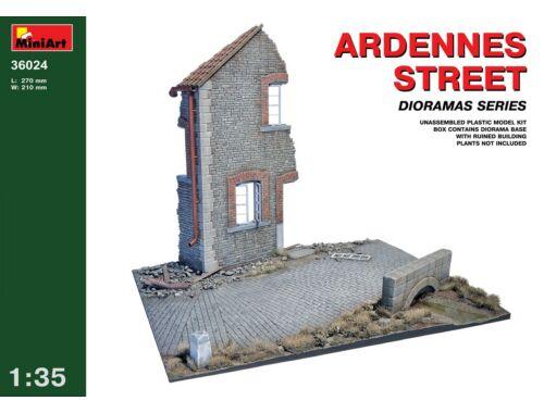 Miniart Ardennes Street 1:35 (36024)