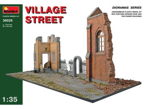 Miniart Village Street 1:35 (36029)