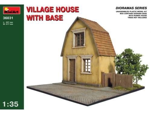 Miniart Village House with Base 1:35 (36031)