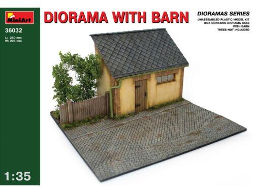 Miniart Diorama w/ Barn 1:35 (36032)