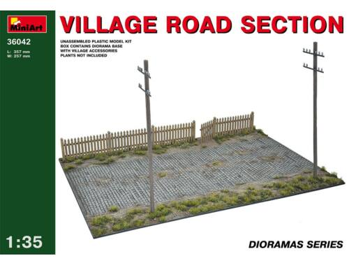 Miniart Village Road Section 1:35 (36042)