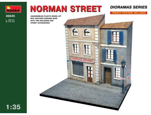 Miniart Norman Street 1:35 (36045)