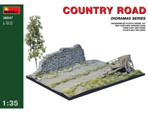 Miniart Country Road 1:35 (36047)