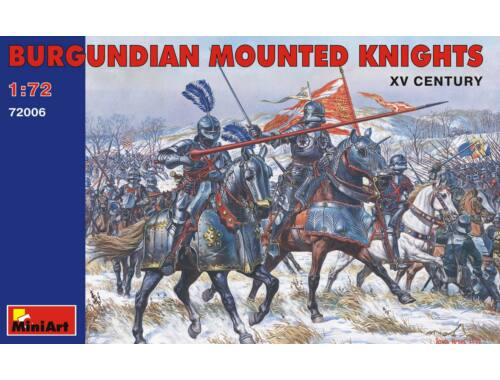 Miniart Burgundian Mounted Knights. XV c. 1:72 (72006)
