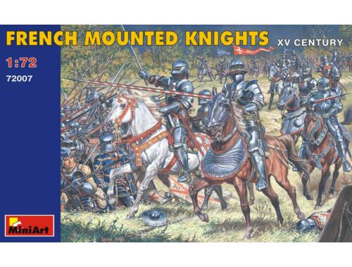 Miniart French Mounted Knights. XV c. 1:72 (72007)