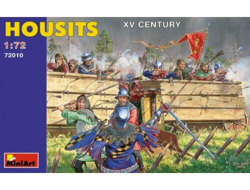 Miniart Housits. XV century 1:72 (72010)