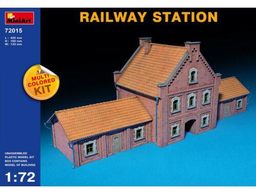 Miniart Railway Station 1:72 (72015)