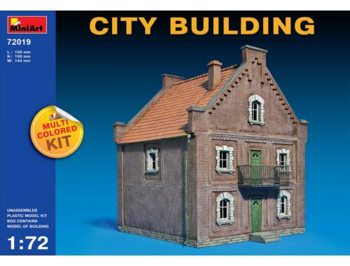 Miniart City Building 1:72 (72019)