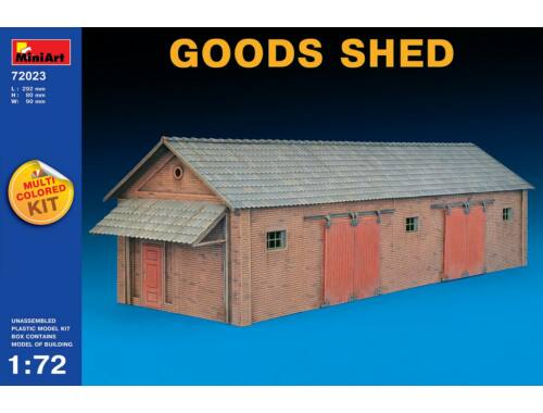 Miniart Goods Shed 1:72 (72023)