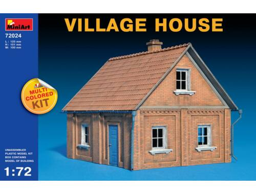 Miniart Village House 1:72 (72024)